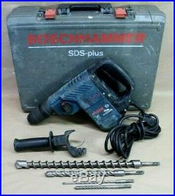Bosch hammer drill 11236VS SDS-Plus Corded Rotary Hammer Drill With Case & 4 Bits