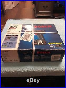Bosch #hds182-02 18v 1/2 Cordless Hammer Drill Driver Li-ion New Brushless