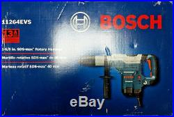 Brand New Bosch 11264EVS 1-5/8 Corded Rotary Hammer Drill Free Shipping