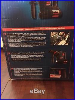 Brand New Bosch Rh328vc-36k 36v 1 -1/8 Sds-plus Rotary Hammer Drill