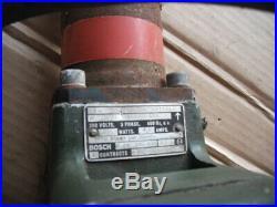 British Army Bosch Concrete Breaker Hammer Caulking Hammer Jackhammer