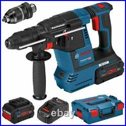 Clearance Bosch GBH 18V-26F 18V Brushless SDS+ Hammer Drill 2 x 8.0Ah 0611910078