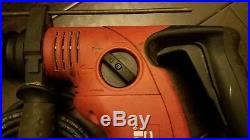 HILTI TE 6-C Corded Chipping Rotary Hammer Drill Bosch Bulldog DeWalt TE 7-C