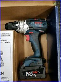 NEW BOSCH GXL18V-225B24 18V Core 6.3 Ah Li-Ion Hammer Drill / Impact Driver Kit