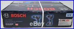 NEW BOSCH GXL18V-251B25 2 Tool Combo Kit Hammer Drill Driver + Impact Driver