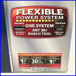 NEW Bosch 11536VSR 36V Cordless Rotary Hammer Kit with Batteries & Charger SDS+