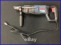 NEW Bosch Bulldog Xtreme 11255VSR Rotary Hammer Drill with Case LOOK NR