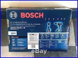 NEW! Bosch CORE18V 1/2 18V Variable Speed Brushless Hammer Drill GSB18V-535CB15