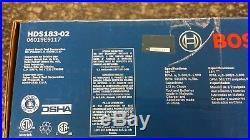 NEW Bosch HDS183-02 18V 1/2 2.0Ah Brushless Hammer Drill Driver Kit