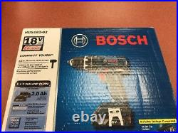 New 18-volt Brushless 1/2-Inch Compact Tough Hammer Drill/Driver with 2.0Ah Batt