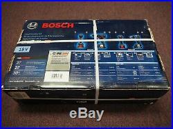 New Bosch 2-Tool Combo Kit Hammer Drill Impact Driver GXL18V-251B25