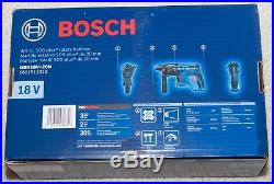 New Bosch GBH18V-20N 18-Volt Cordless Rotary Hammer Drill SDS-Plus