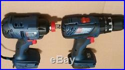 New Bosch GDX18V-1600 Impact Driver & New Bosch HDS181A Hammer Drill, TOOLS ONLY