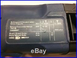 Vintage Bosch SDS Plus Drill Hammer Breaker 240v 620w 4-24mm GBH DSE Germany